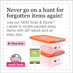 Mabel's Labels: Get Organized with NEW Scan & Store Labels!