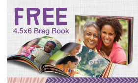 Free 4.5 x 6 Brag Book from Walgreens