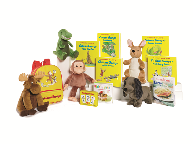 Kohl S Cares 5 Curious George Books Plush Toys Mommies With Cents