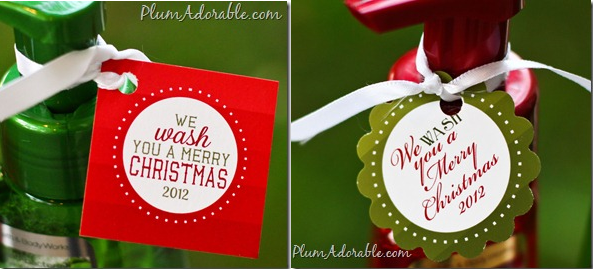 photograph about We Wash You a Merry Christmas Free Printable called No cost \