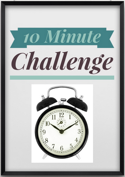 10 Minute Challenge: A Clean Pantry