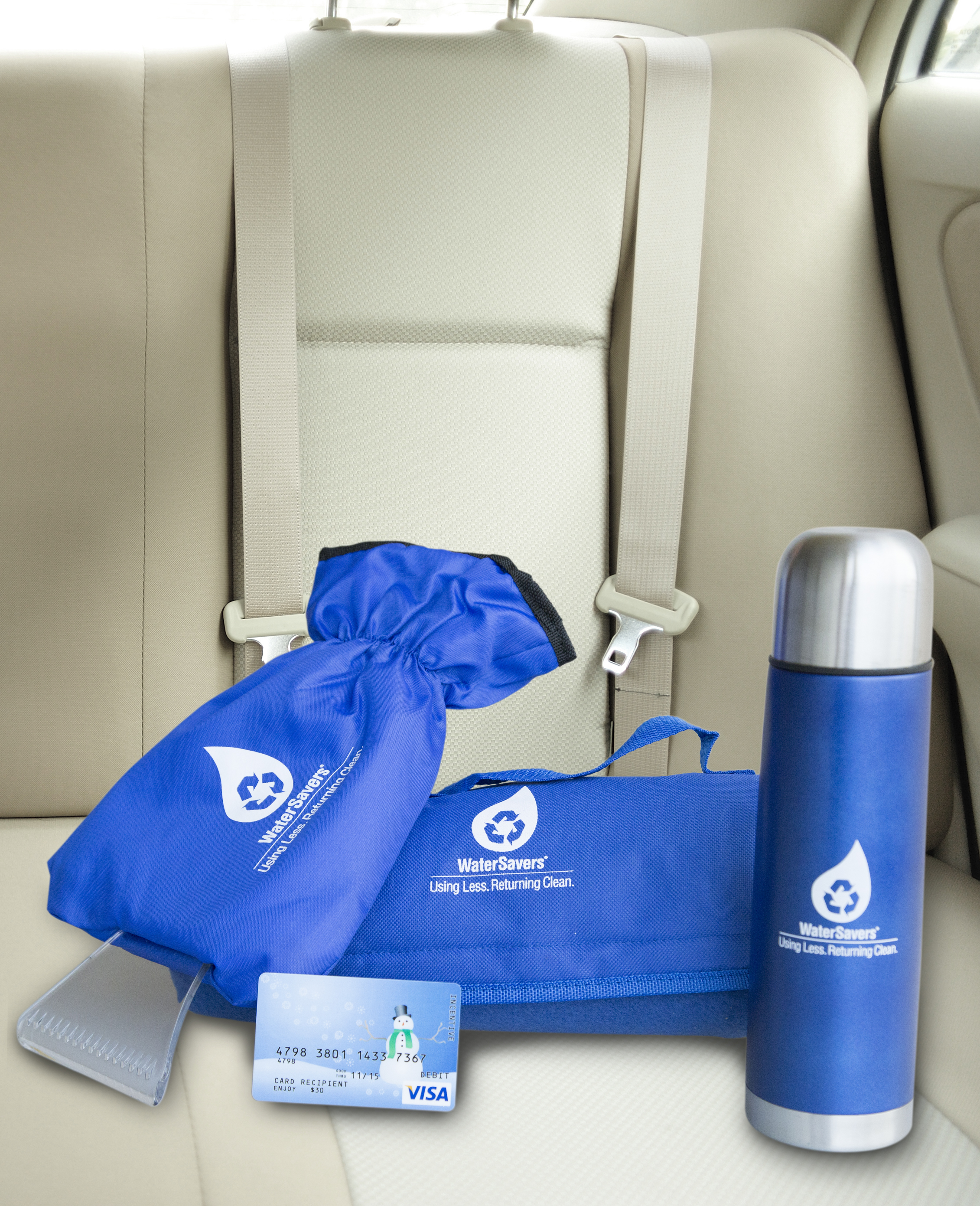 WaterSavers winter prize package