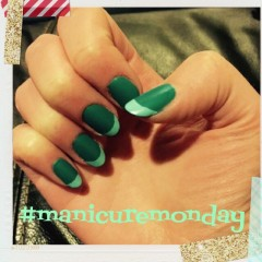 Manicure Monday: French Ombre with Matte Top Coat