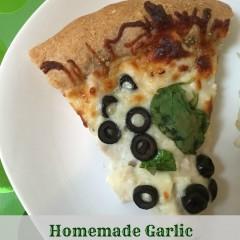 Homemade Garlic Chicken Pizza Recipe