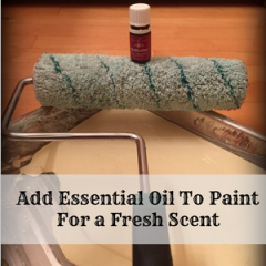 Painting Your Room?  Try Essential Oils In Your Paint!