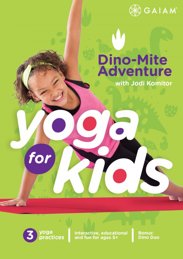 Yoga for Kids Dino Mite Adven cover_flat