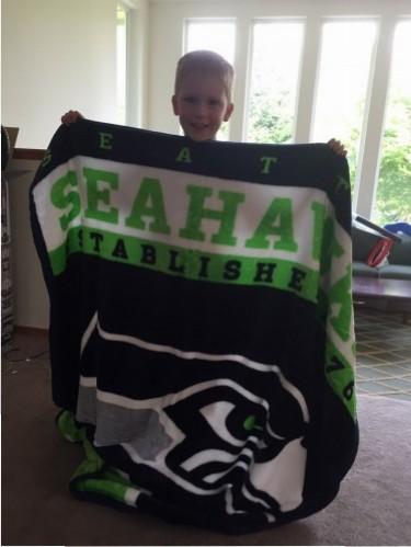 Seahawks Blanket