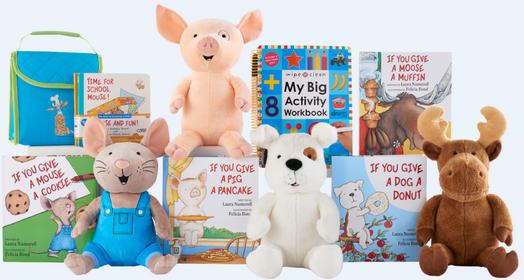 Kohl S Cares 5 Books Plush Toys