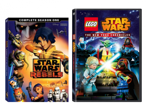 Star Wars Rebels S1 and Lego Star Wars: The New Yoda Chronicals