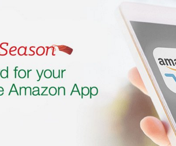 Free $5 Amazon Gift Card For Signing Into the Amazon App!