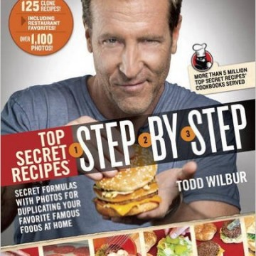 Top Secret Recipes Step By Step Book Review & #Giveaway AD #MWCHolidayGiftGuide