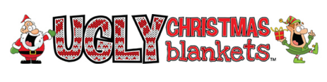 ugly christmas blanket