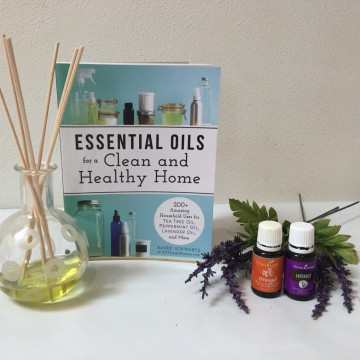 Essential Oils for a Clean and Healthy Home Book #Giveaway AD