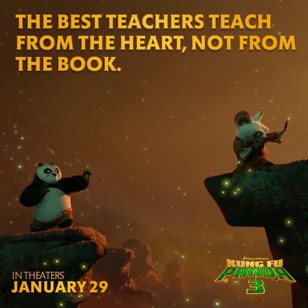 kung fu panda 3 teach