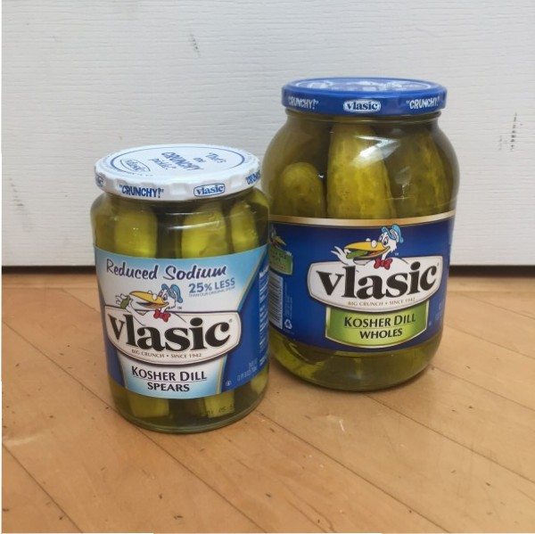 Vlasic Kosher Dill Spears Nutrition Info