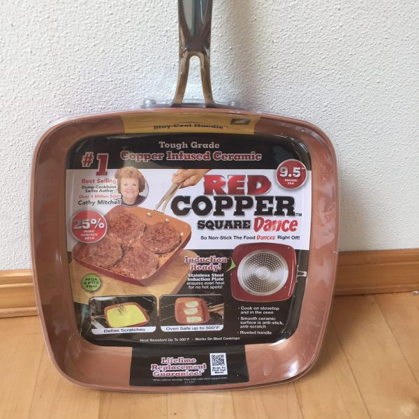 Red Copper Square Dance Pan Review Amp Giveaway Mommies