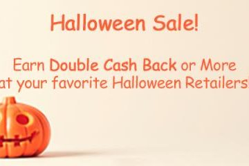 Halloween Sale — Double Cash Back or More!