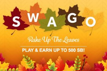 Get more free gift cards during October Swago with Spin & Win