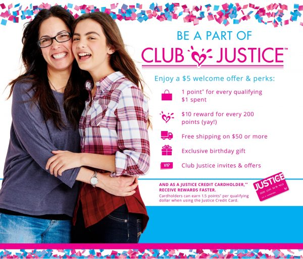 Why Is The Girls Clothing Store Justice Called Justice