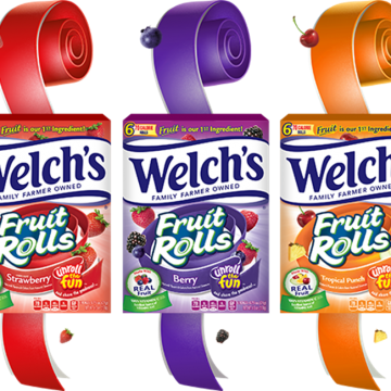 NEW! Welch's Fruit Rolls Review & #Giveaway (AD)