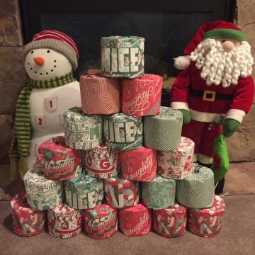"""Who Gives a Crap"" Naughty & Nice Toilet Paper #Giveaway — Festive & Fun! (AD)"
