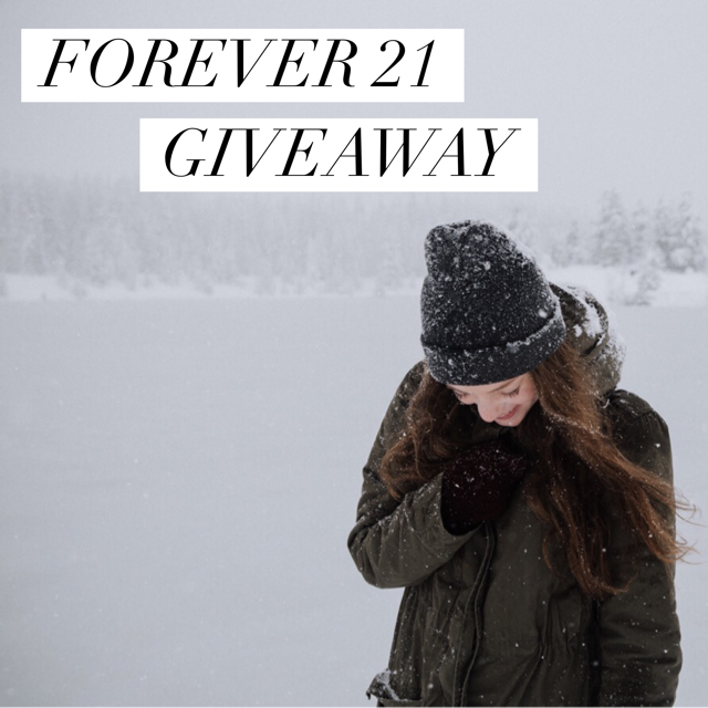 Forever 21 instagram gift card giveaway