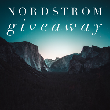 $100 Nordstrom Gift Card Giveaway (Ends 3/5)