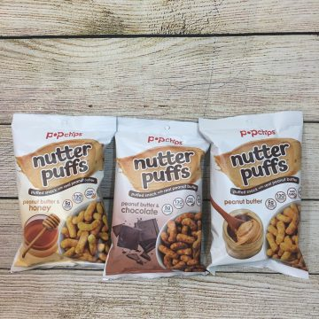 PopChips Introduces Nutter Puffs #Giveaway #PeanutBetter (AD)