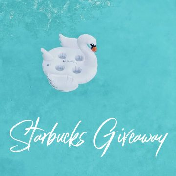 $100 Starbucks Gift Card Giveaway (Ends 7/3)