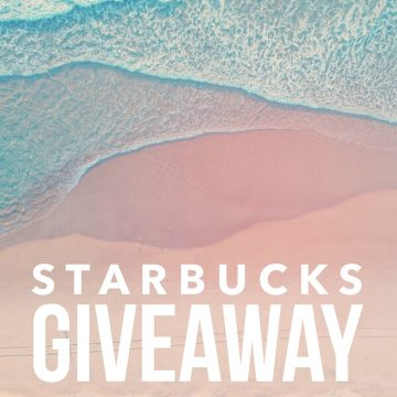 $100 Starbucks Gift Card Giveaway (Ends 8/3)