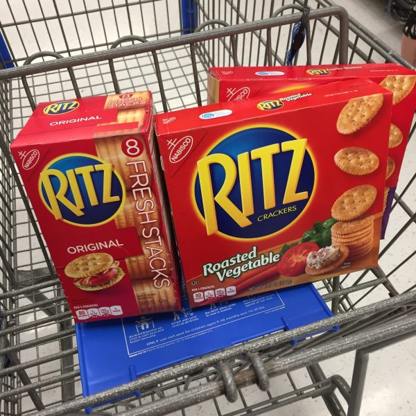 Save on RITZ with Ibotta at Walmart + Gift Cards #Giveaway