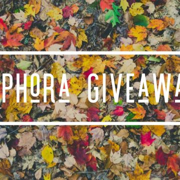 $100 Sephora Gift Card #Giveaway (Ends 11/2)