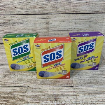S.O.S. Soap Pads for Holiday Hosting #Giveaway