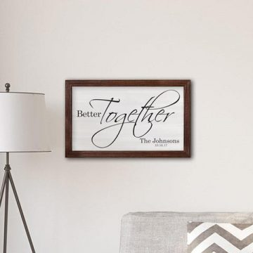 A Gift Personalized: Beautiful Custom Home Decor #Giveaway