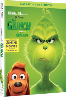 Illumination's Dr. Seuss' The Grinch Now Available on Digital and Coming on Blu-Ray 2/5/19! #TheGrinch