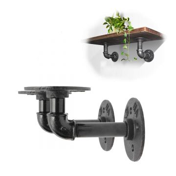Pipe Bracket Makes Interesting Wall Shelf #Giveaway (AD)
