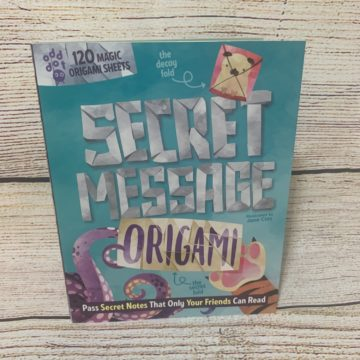 Secret Message Origami