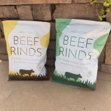 Holy Cow Beef Rinds
